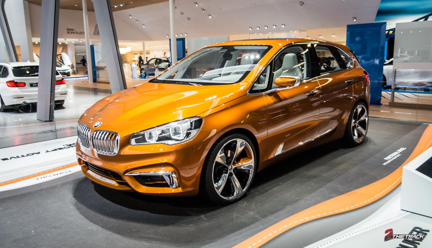 BMW presenteerde in 2012 de Active Tourer Concept, een auto die breekt met BMW tradities. Een jaar later stond deze oranje wagen op de IAA Frankfurt.
