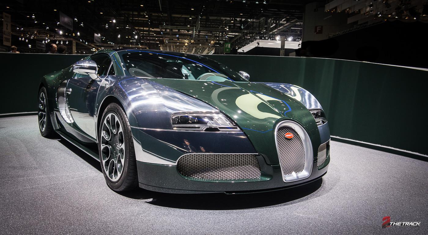 Bugatti stuurt laatste Veyron naar Genève