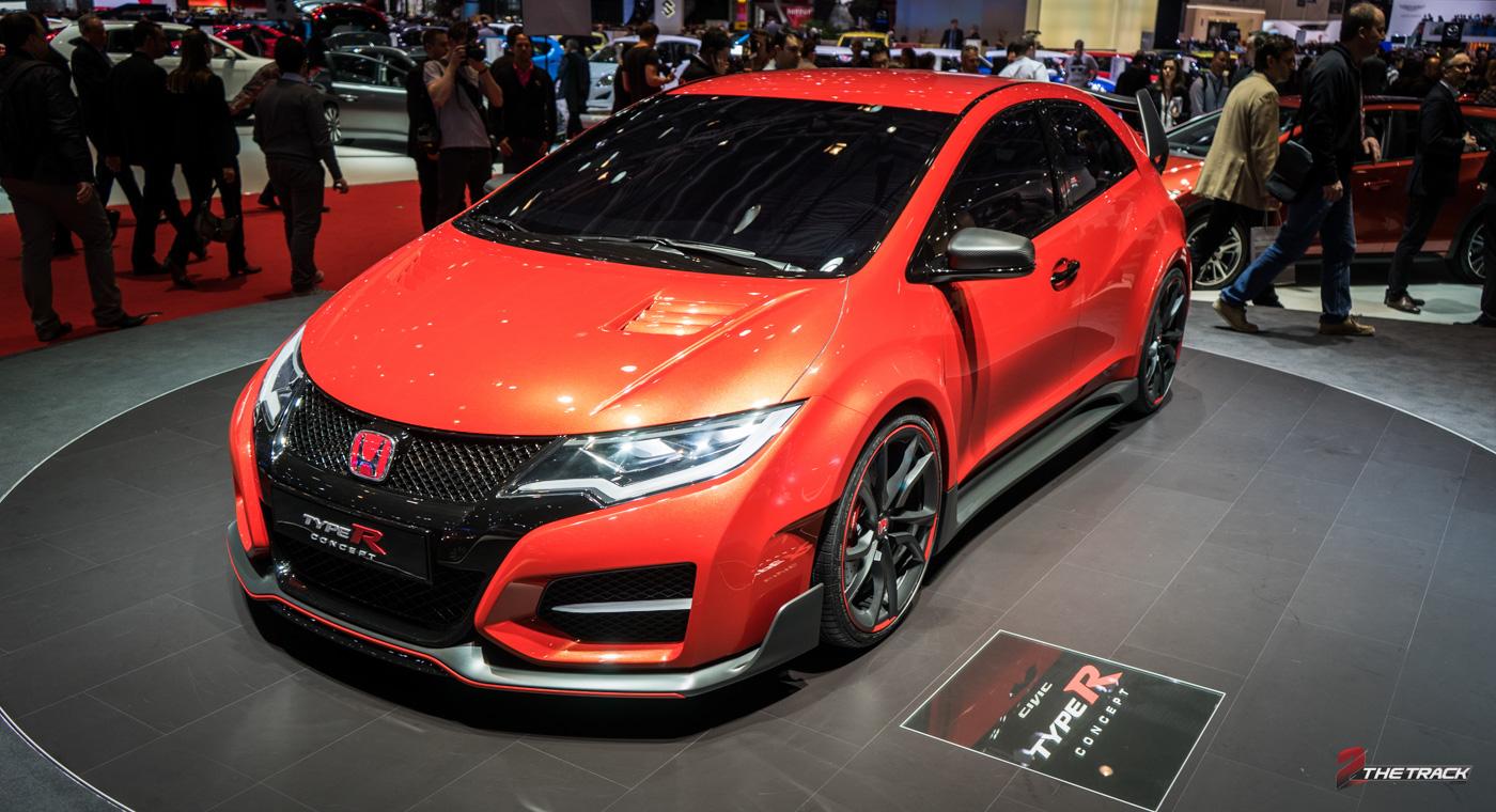 Vorig jaar plaatste Honda deze Civic Type R Concept centraal op de stand.