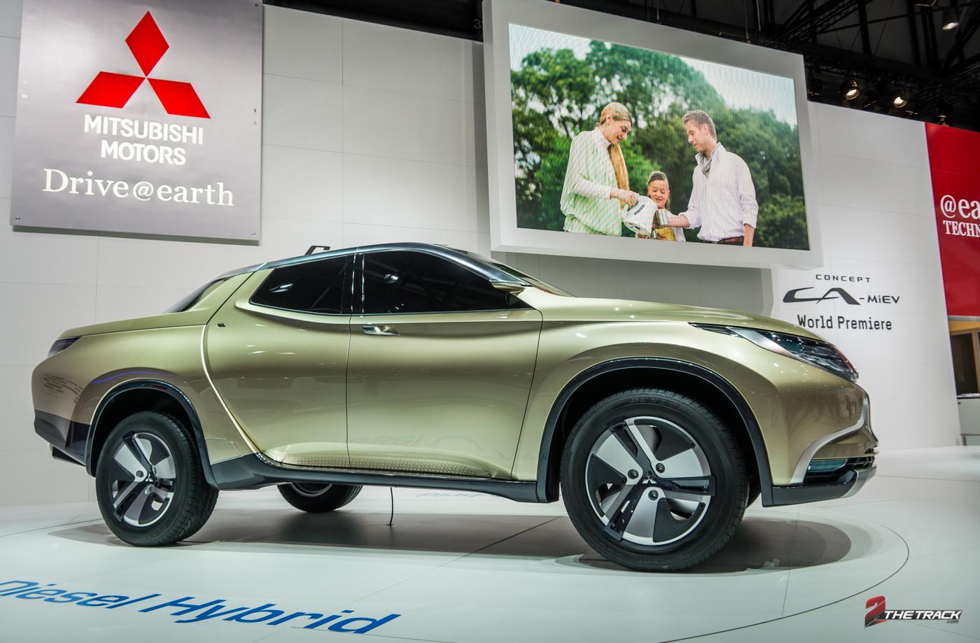 Mitsubishi bouwt meer concepts dan productiewagens, met de GR-MEV Concept experimenteerde ze met een diesel-hybride aandrijving in een pick-up truck.