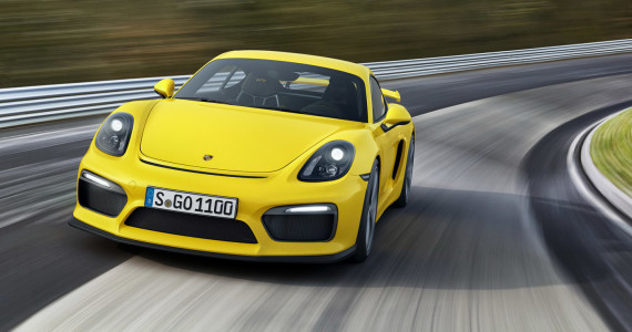 Porsche Cayman GT4 2015 official