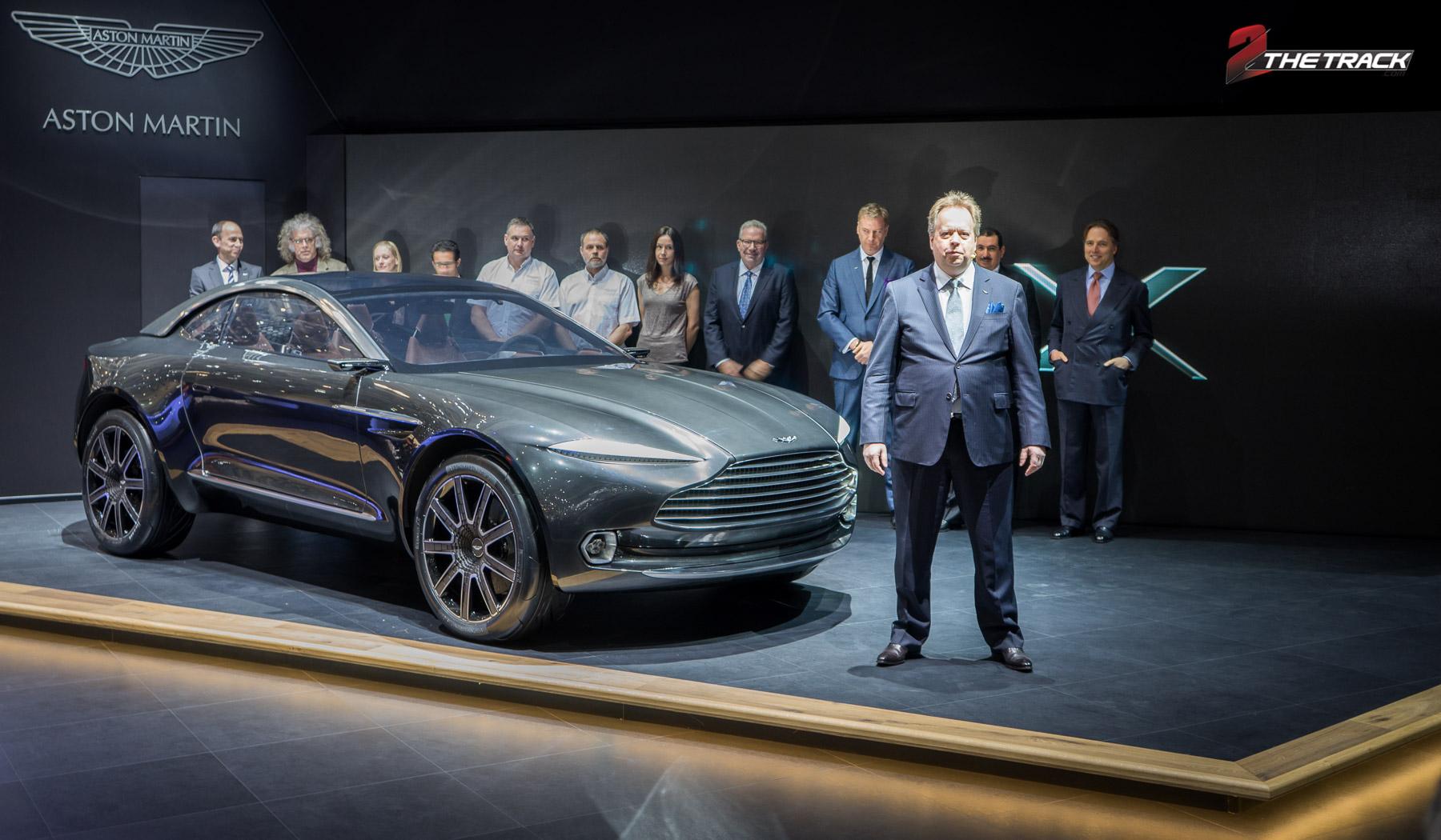 Andy Palmer wil vooruit met Aston Martin