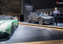 Aston Martin press conference DBX concept Vulcan Geneva Motor Show 2015-1