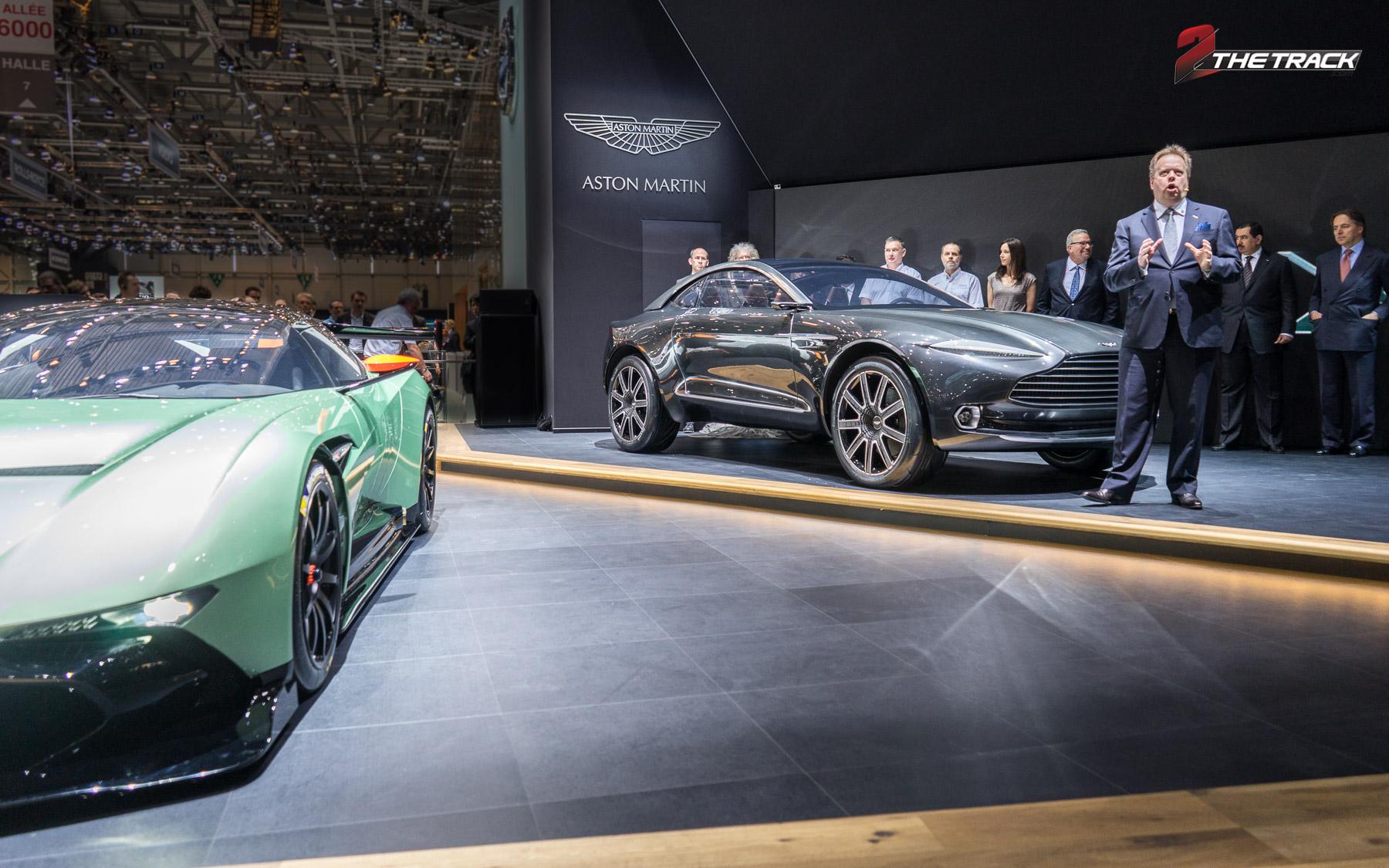 Aston Martin press conference