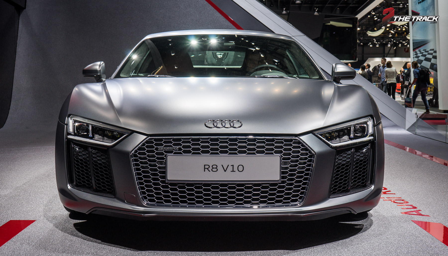 Audi R8 V10 Geneva Motor Show 2015-1-2