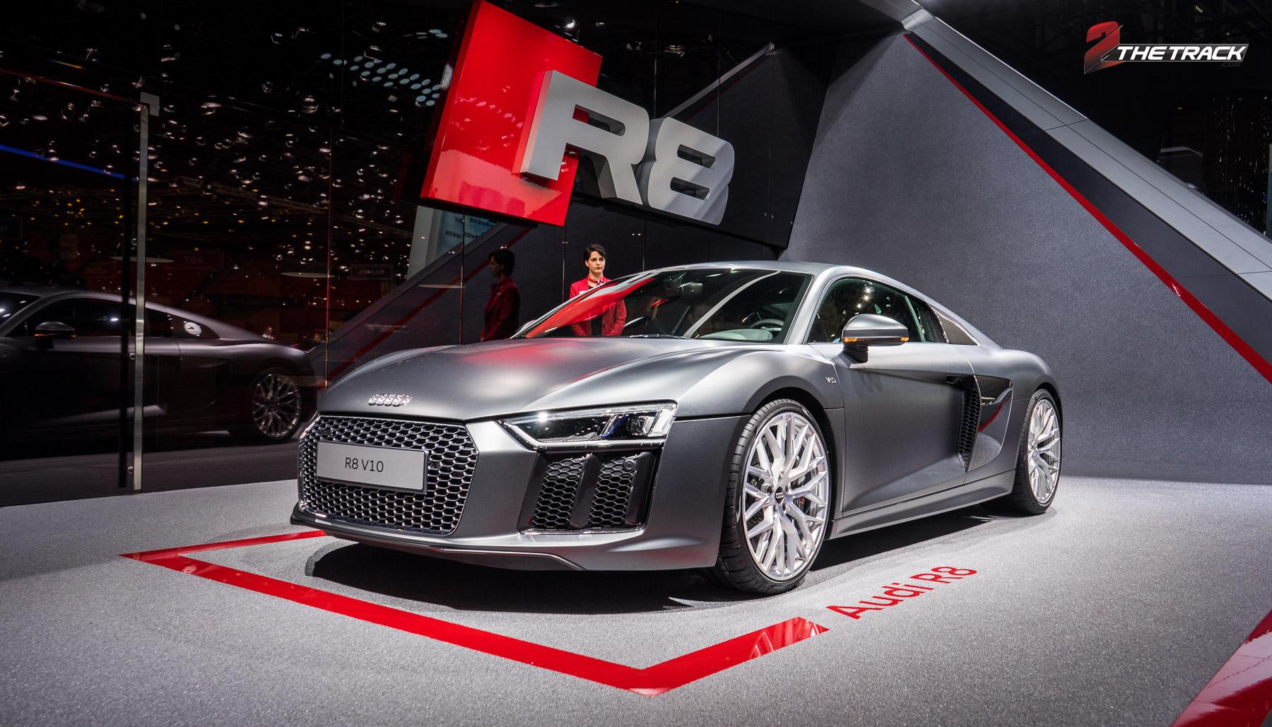 Nieuwe Audi R8 in Genève