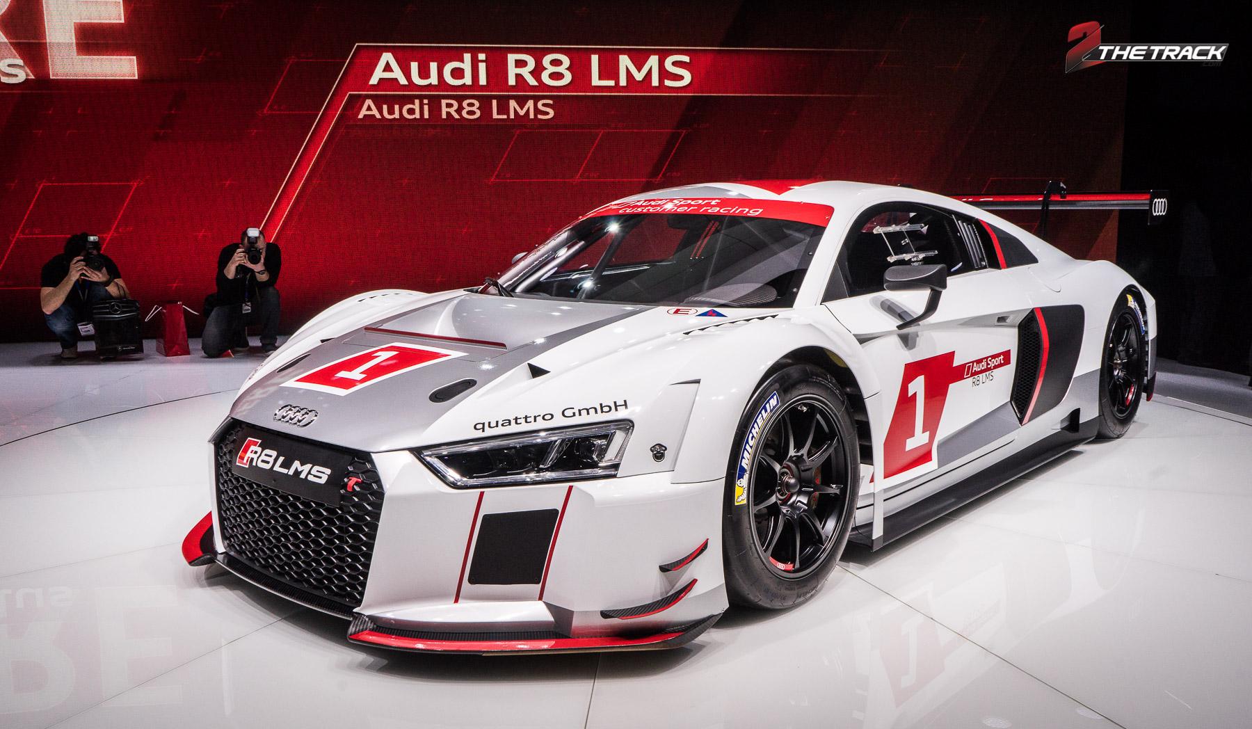 Audi R8 V10 LMS Geneva Motor Show 2015-1