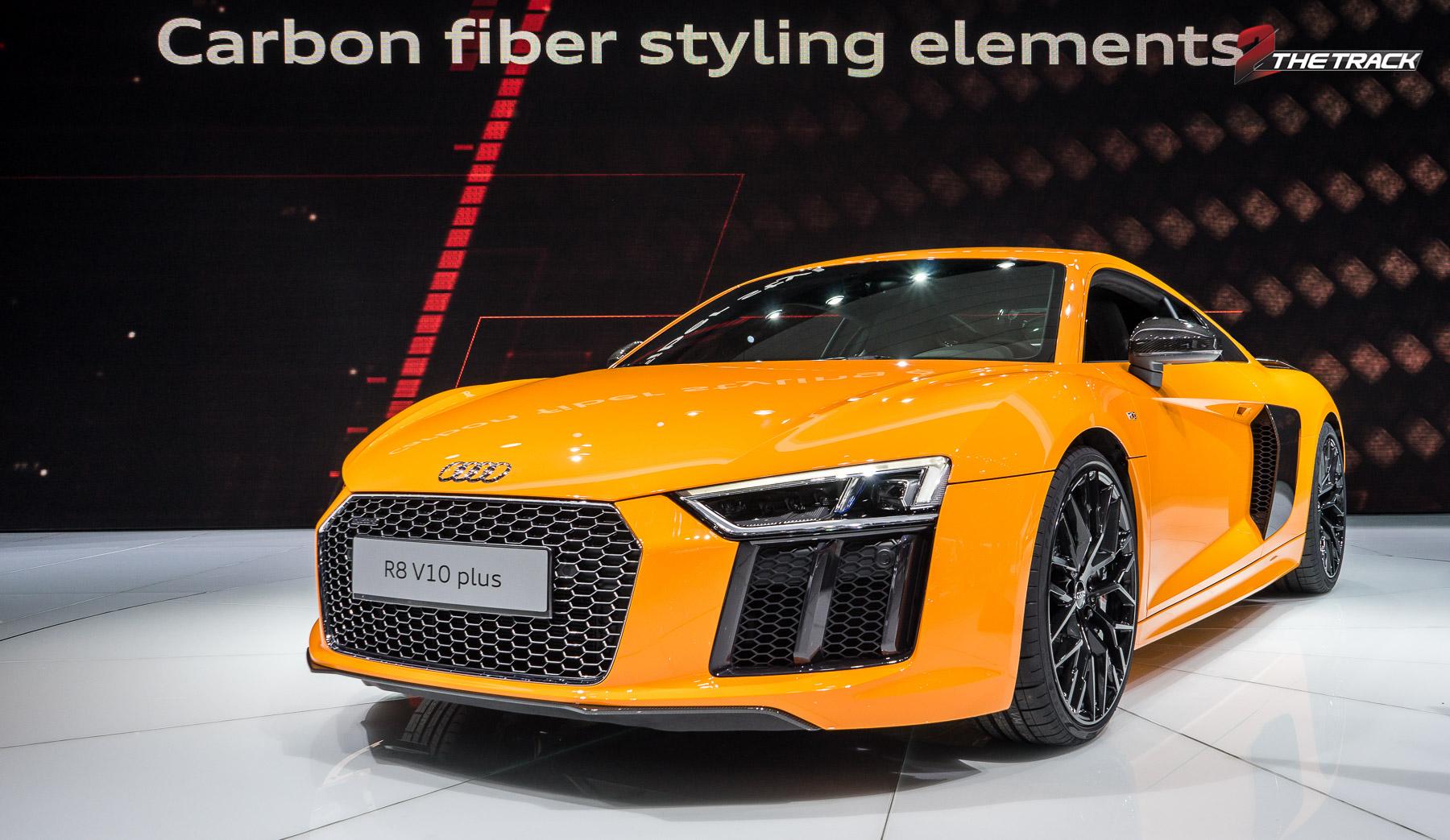 Audi R8 V10 Plus Geneva Motor Show 2015-1