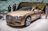Bentley Continental GTC Convertible Autosalon Geneva Motor Show 2015-1