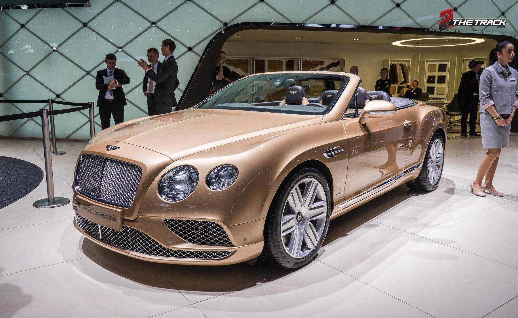 Vernieuwde Bentley Continental familie
