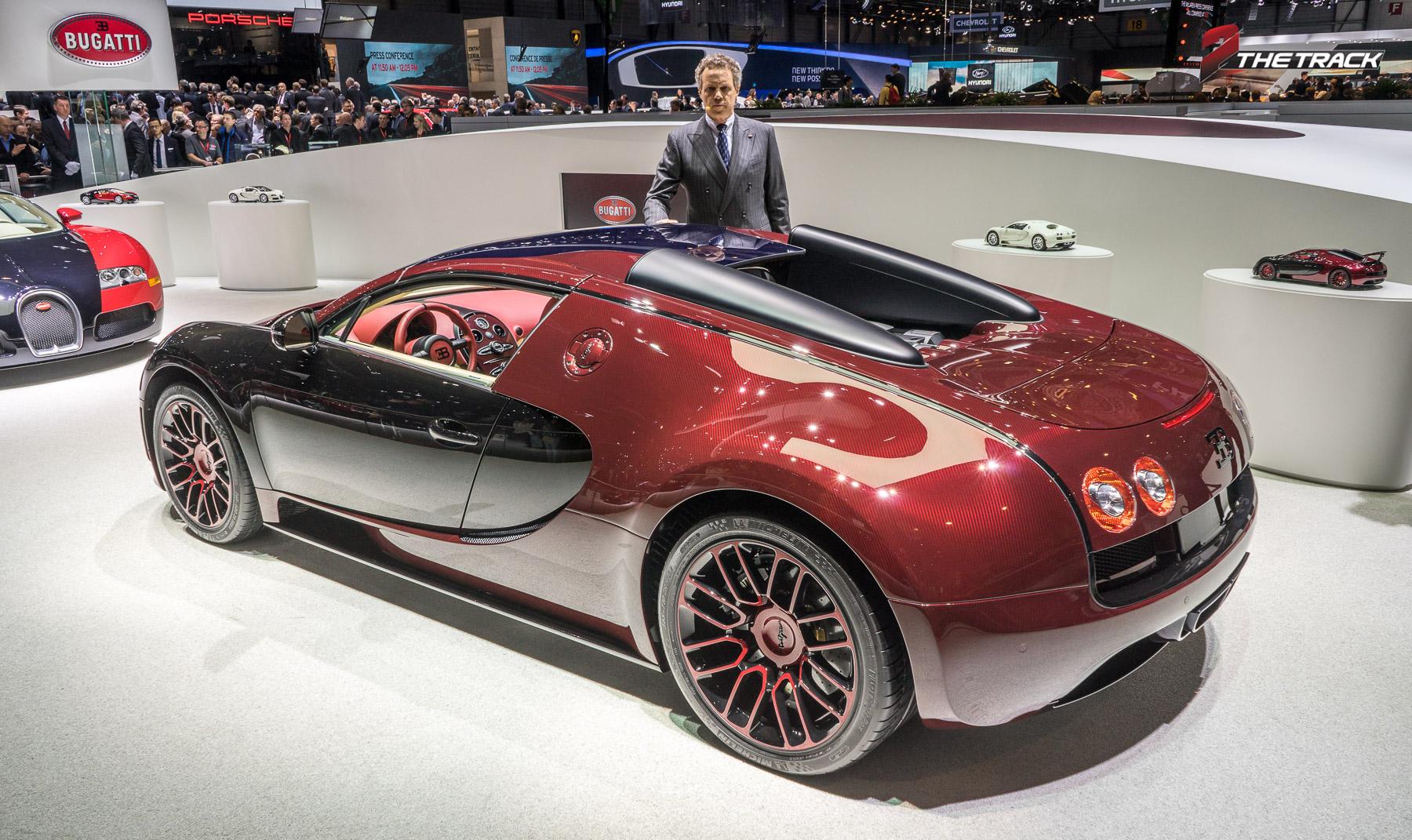 De laatste Bugatti Veyron La Finale