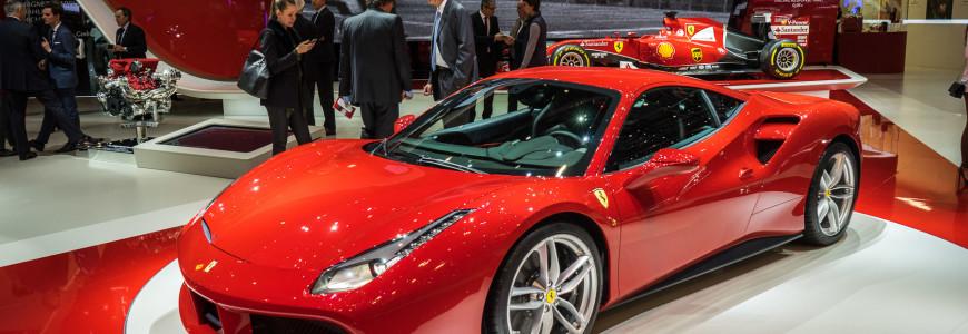 Ferrari 488 GTB Geneva Motor Show 2015-42