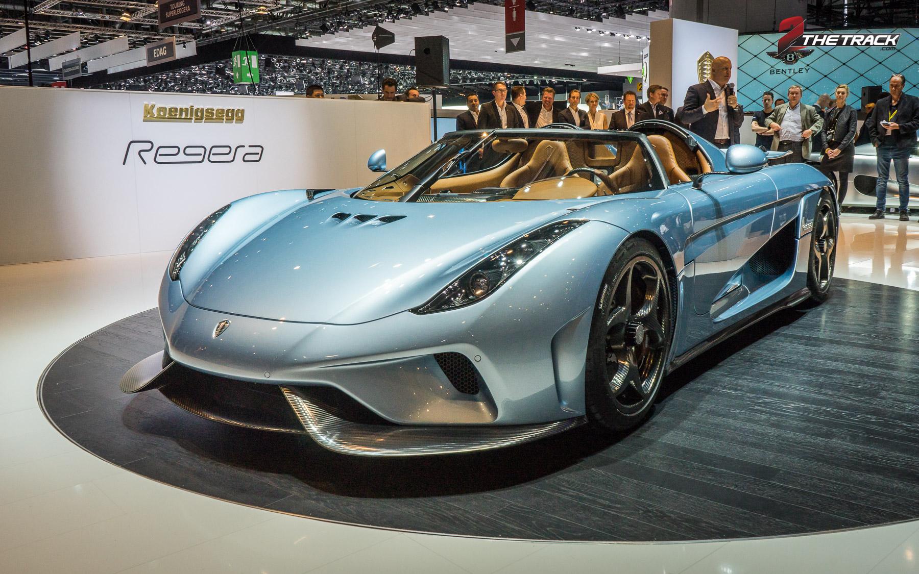Onvoorstelbare specs van de Koenigsegg Regera