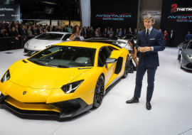 Lamborghini LP750-4 Aventador SV Super Veloce Stephan Winkelmann Geneva Motor Show 2015-1