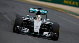Lewis Hamilton Mercedes AMG F1 Rolex Melbourne Albert Park Australian Grand Prix 2015