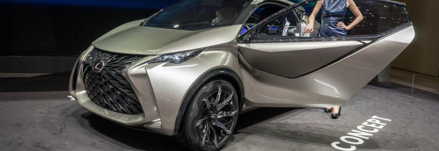 Lexus LF-SA Concept Cross Over Geneva Motor Show 2015-1