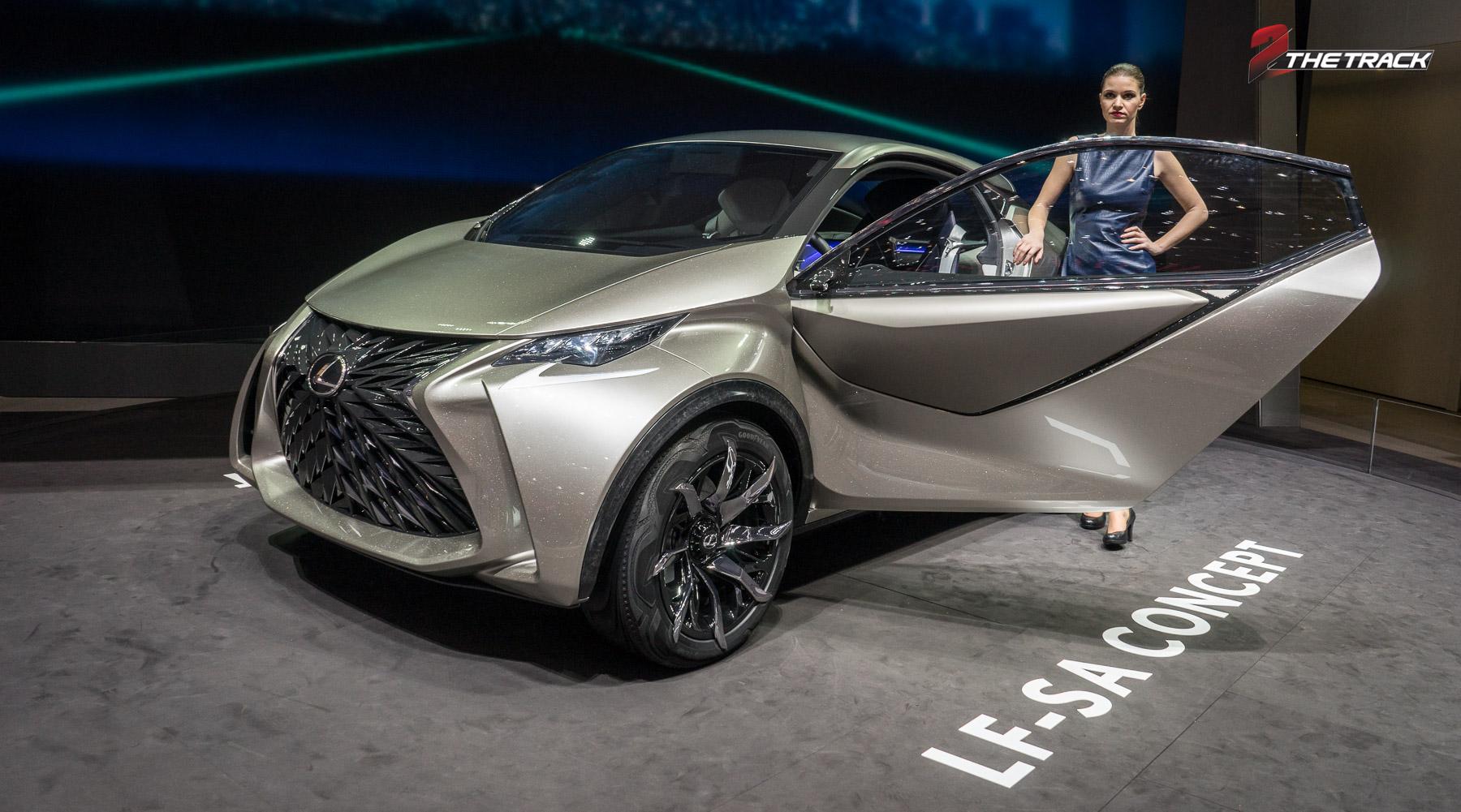 Lexus LF-SA is vooral lelijk
