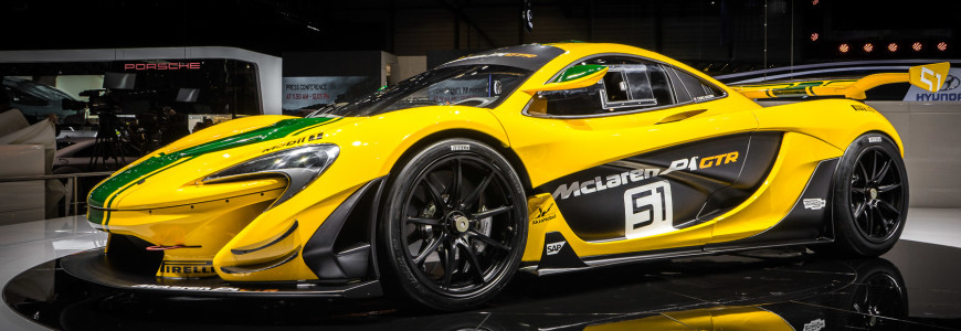 McLaren P1 GTR Autosalon Geneva Motor Show 2015-1