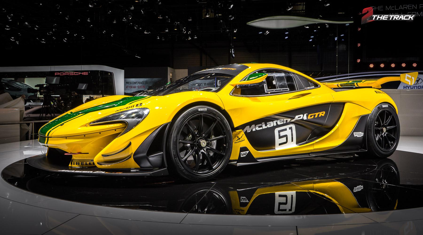 Publieksdebuut McLaren P1 GTR