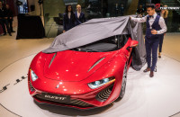 NanoFlow Cell Quant F Concept Hydrogen powered Geneva Motor Show 2015-1