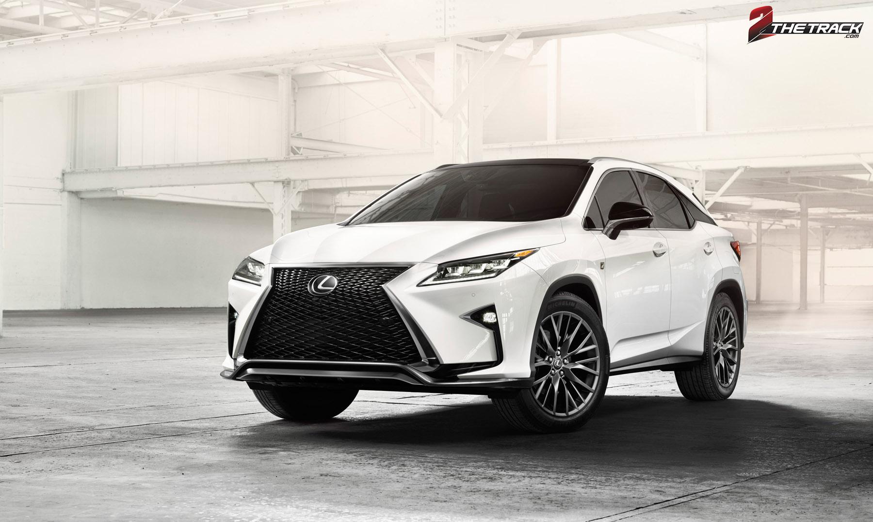 Lexus vernieuwt RX-serie