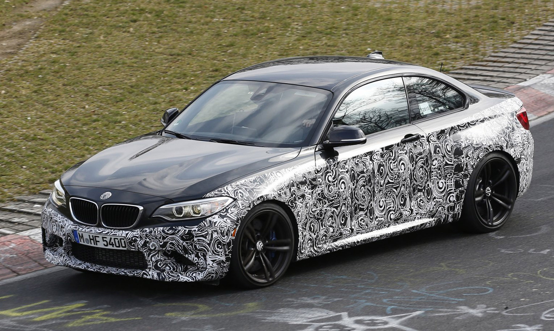 BMW test nieuwe M2