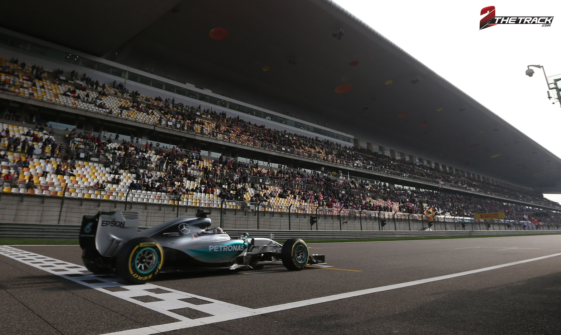 Hamilton wint GP van China
