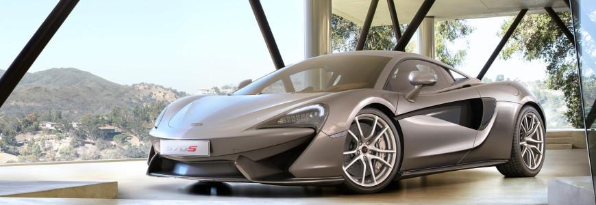 McLaren 570S release New York Auto Show 2015