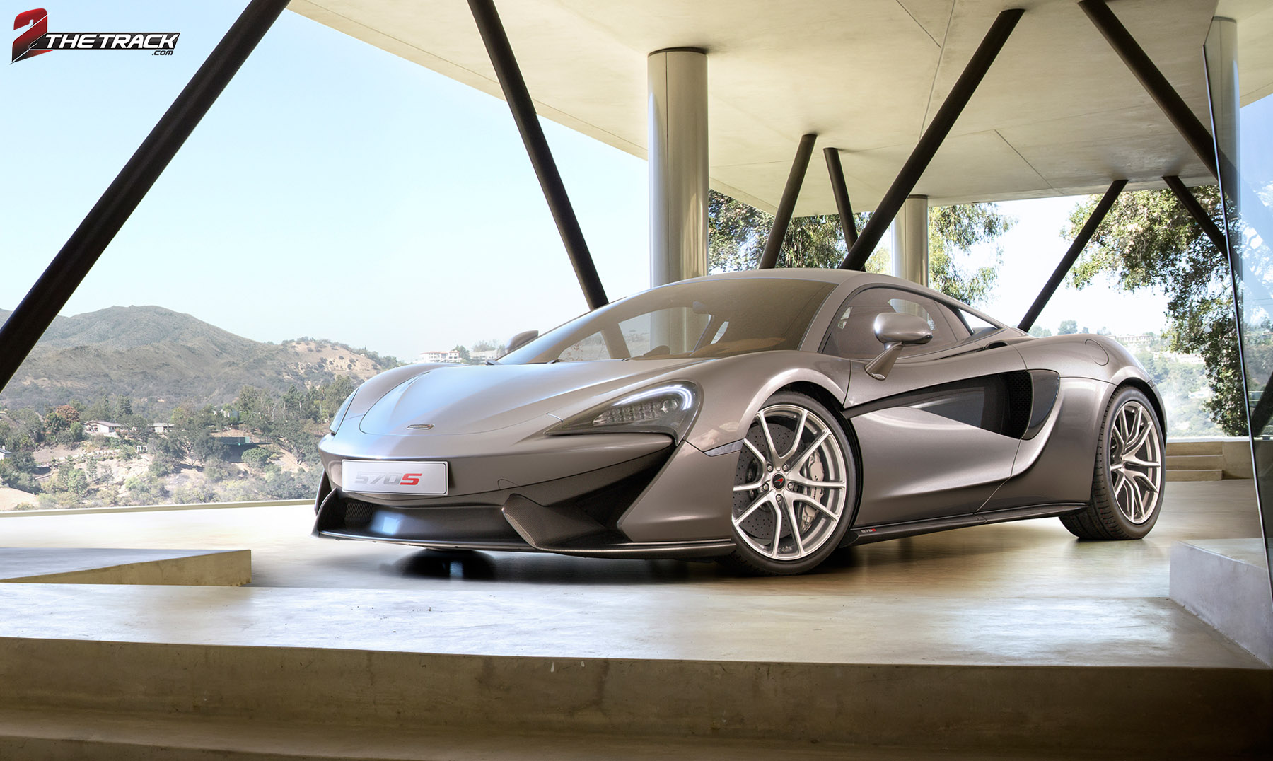 McLaren 570s is officieel
