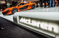 McLaren Paris Motor Show 2012 McLaren logo-1