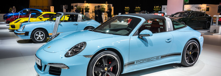 Porsche 911 Targa 4s 991 Exclusive Edition AutoRAI 2015-1