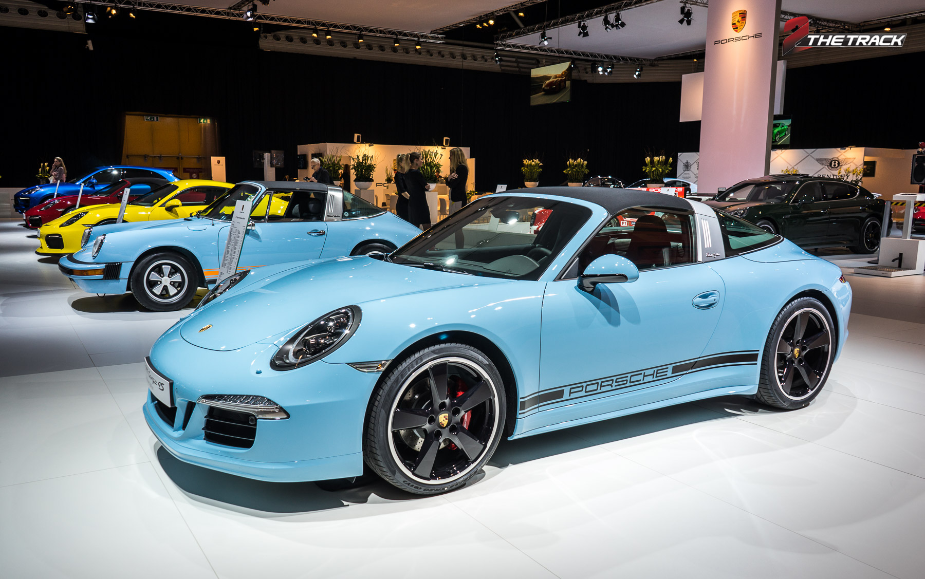 Porsche Targa 4S Exclusive Edition alleen in NL
