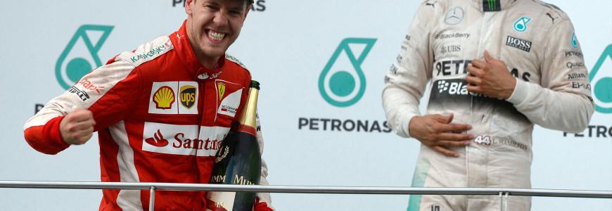 Sebastian Vettel Scuderia Ferrari 2015 Maleisie Sepang