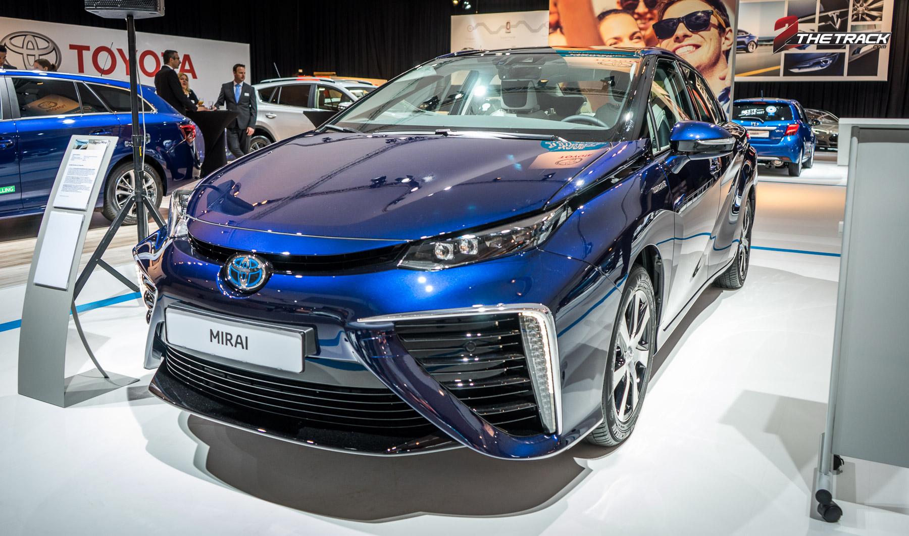 Toyota Mirai even in Nederland