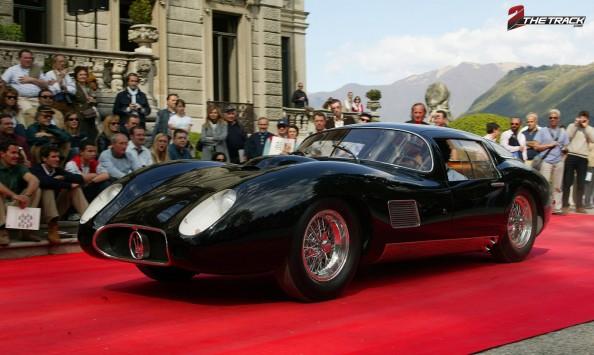 1957 Maserati 450S Costin Zagato coupe Mostro villa d este 2015