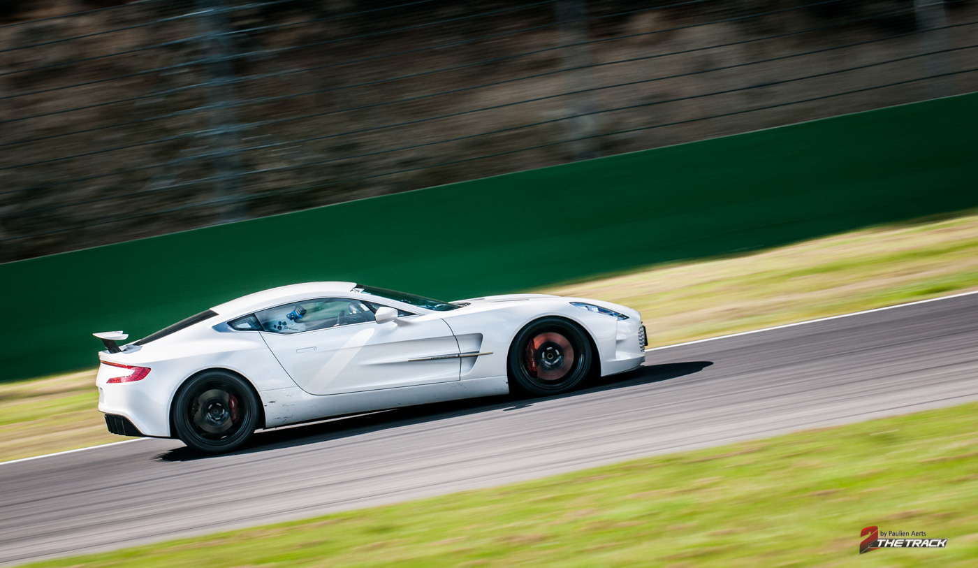 Aston Martin On Track Spa Francorchamps