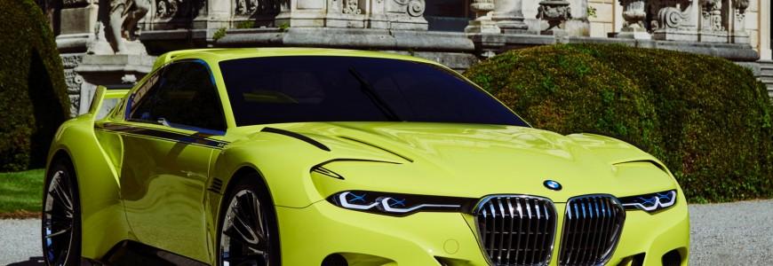 BMW 3.0 CSL Hommage Concorso Villa d'Este 2015