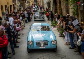 Fiat 1100 E Berlinetta Mille Miglia 2015 nr 237 - Dorine Ghyselinck - Veerle Verschooris