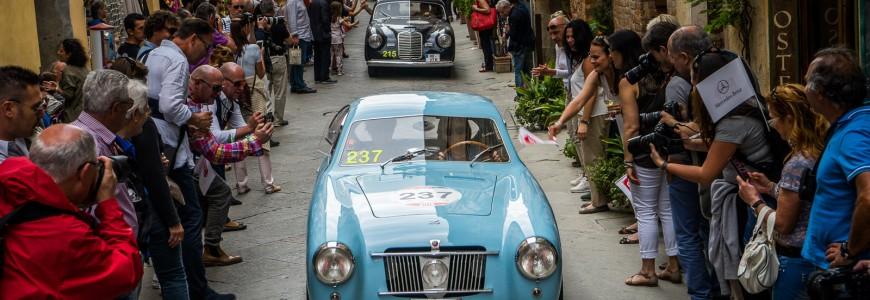 Fiat 1100 E Berlinetta Mille Miglia 2015 nr 237 - Dorine Ghyselinck - Veerle Verschooris