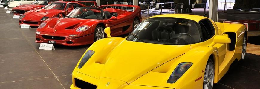 RM Auctions Sotheby's Ferrari Enzo F50 F40 288 GTO villa d'este auction 2015