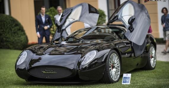 Zagato Maserati Mostro Concorso d'eleganza villa d'este 2015