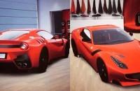 Ferrari F12 GTO spyshot