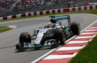 Lewis Hamilton Mercedes AMG F1 Grand Prix Canada 2015