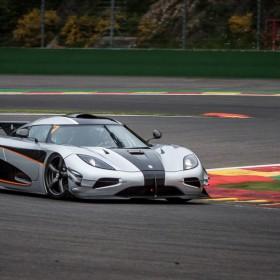 Koenigsegg One-1 record run at Spa Francorchamps-1-2