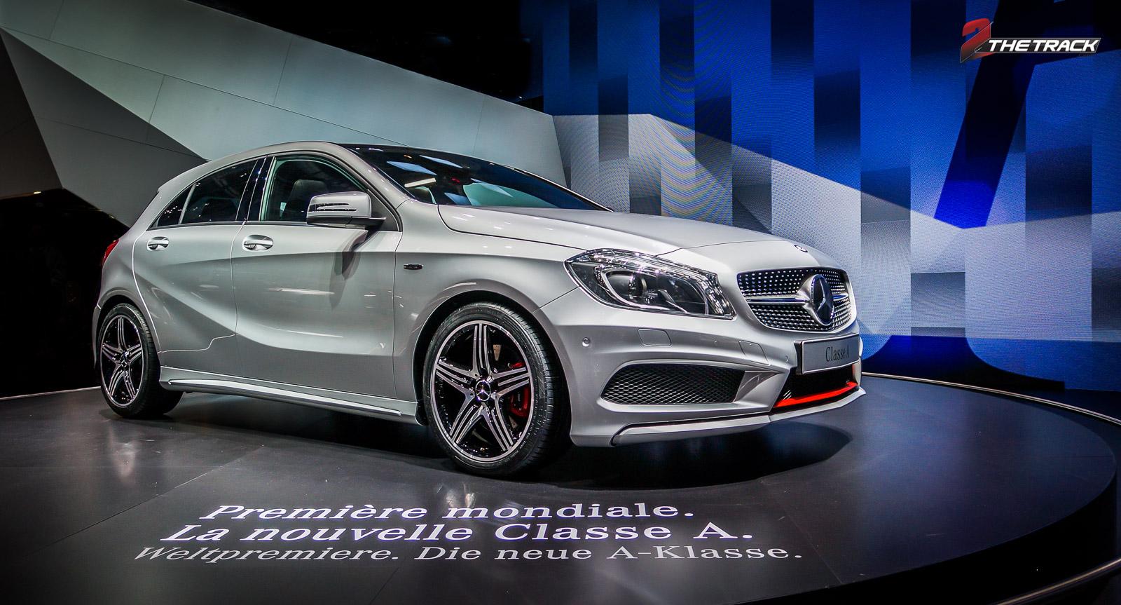Onthulling van de A-klasse in 2012 betekende de definitieve verjonging van Mercedes-Benz.