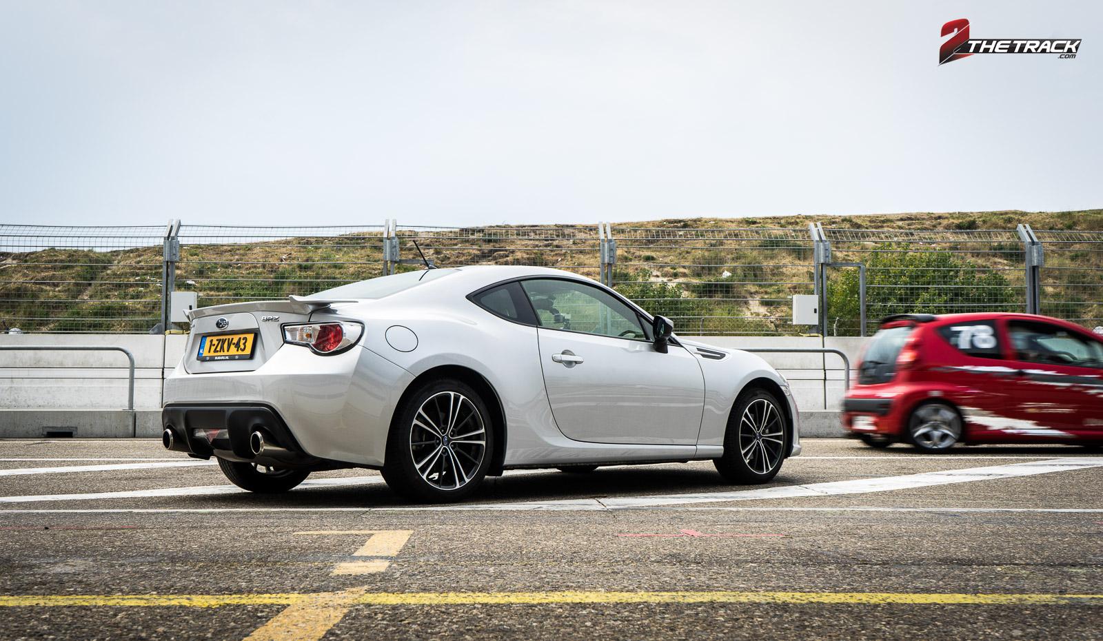 De Subaru BRZ heeft een hoge fun-factor, al word je op rechte stukken vaak ingehaald.