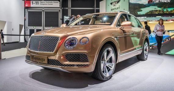Bentley Bentayga IAA Frankfurt 2015-16