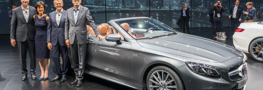 Mercedes-Benz S-class cabriolet S63 AMG Cabriolet IAA Frankfurt 2015-5