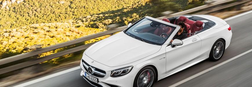 MercedesBenz Sclass convertible cabriolet IAA frankfurt 2015 debute 2015