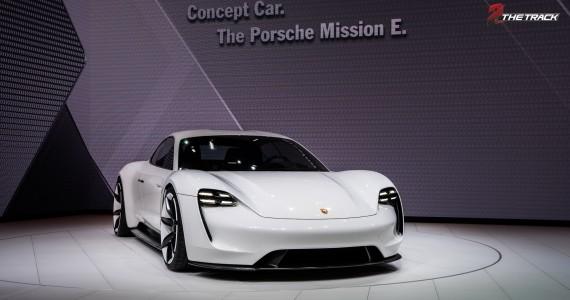 Porsche Mission E Concept Car IAA Frankfurt 2015-1